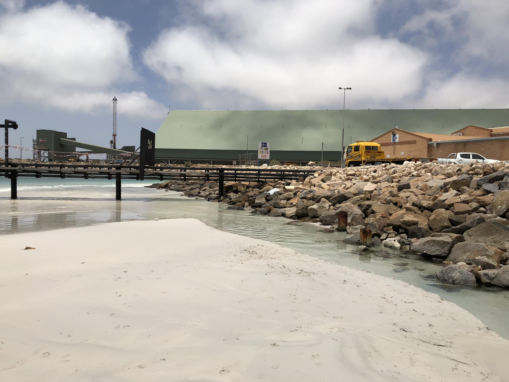 Lives Beach is closed to public access