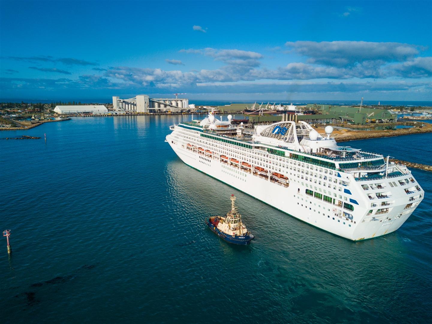 Cruise Ships » Mid West Ports