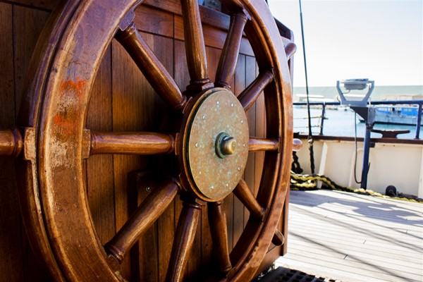 STS Leeuwin Visit June 2017 - The Ship's Wheel