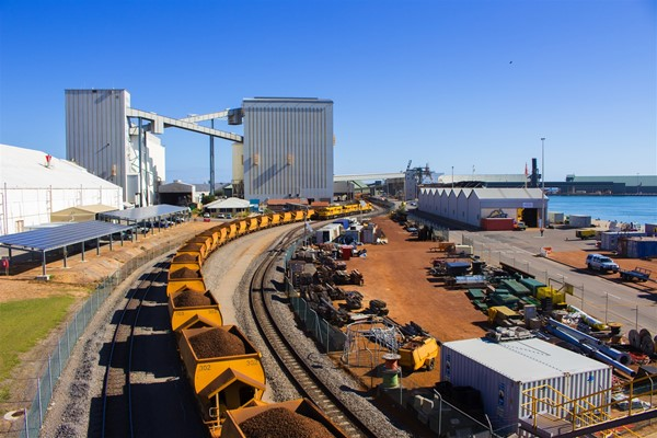 Port Highlights - Iron ore for export